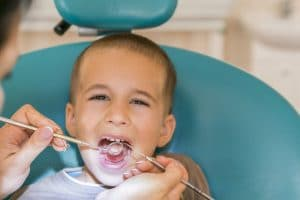 pediatric dental evaluation